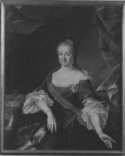 Bildnis der Kurfürstin Elisabeth Auguste, Gattin Karl Theodors