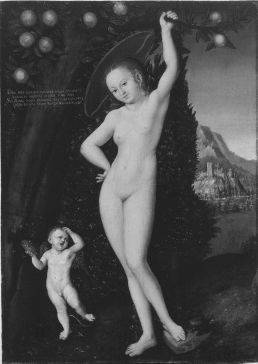 Venus und Amor als Honigdieb