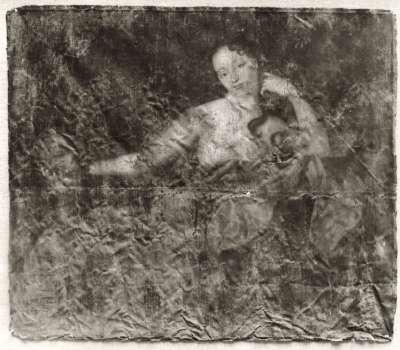Büßende hl. Maria Magdalena mit Totenkopf