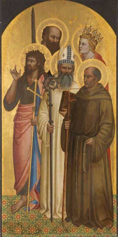 Hll. Johannes der Täufer, Romuald, Gherardus von Villamagna, Paulus und Minias