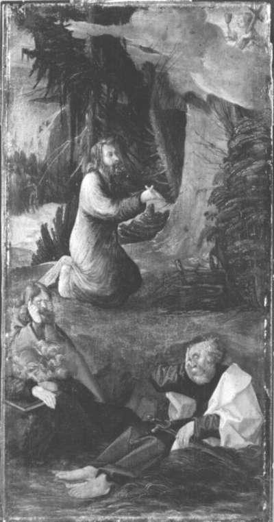 Christus am Ölberg (Freie Kopie nach Dürers Kupferstich B. 4)