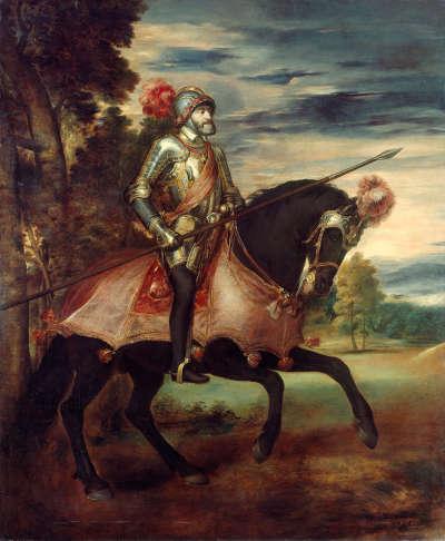 Kaiser Karl V. nach der Schlacht bei Mühlberg (nach Tizian)
