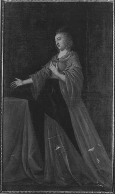Bildnis der Sibylla, Tochter des Kurfürsten Achilles von Brandenburg
