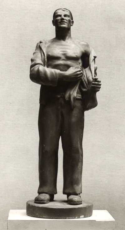 Männliche Figur (Arbeiter)