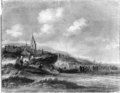 Dorf an der See