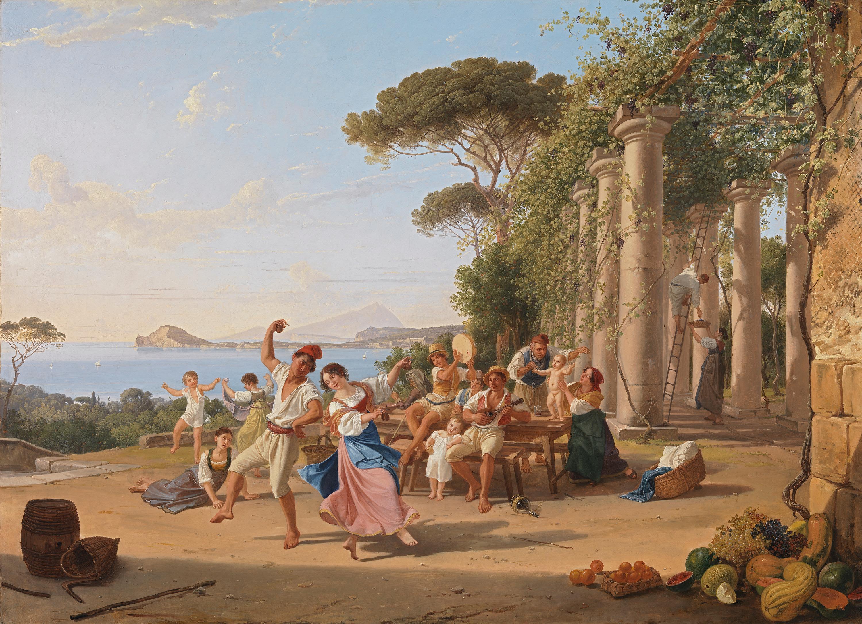 Volksfest bei Pozzuoli