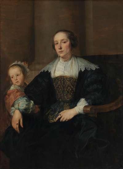 Anna van Thielen mit ihrer Tochter Anna Maria Rombouts