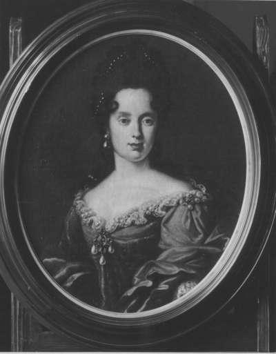 Bildnis der Anna Maria Louise von Medici, Gemahlin von Kurfürst Johannes Wilhelm von der Pfalz