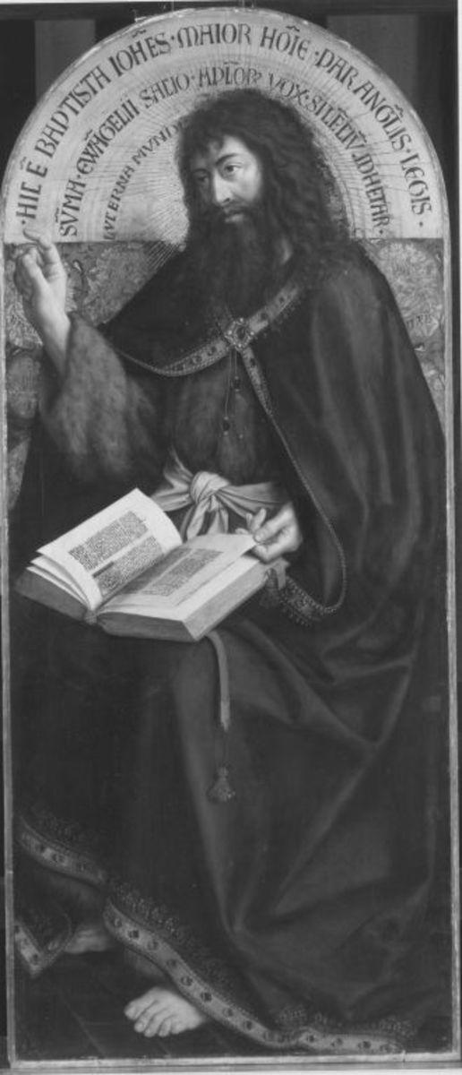 Johannes der Täufer (nach Jan van Eycks Genter Altar)