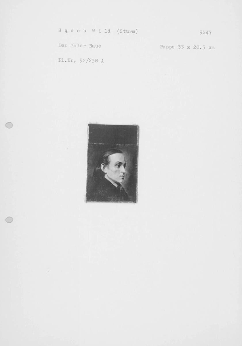 Der Maler Julius Naue