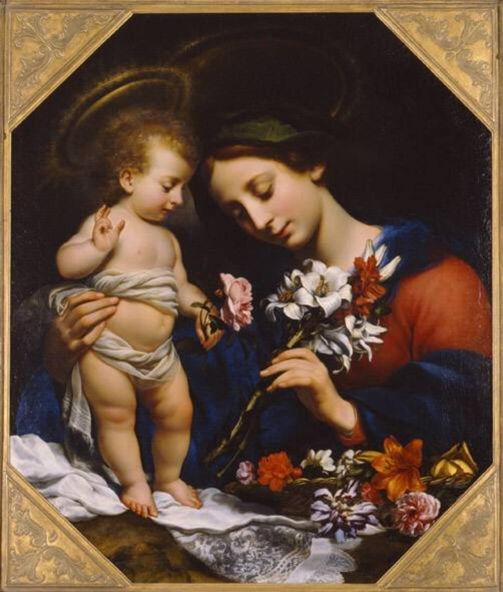 Madonna mit der Lilie
