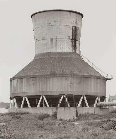 Kühlturm Zeche Osterfeld, Oberhausen, 1980