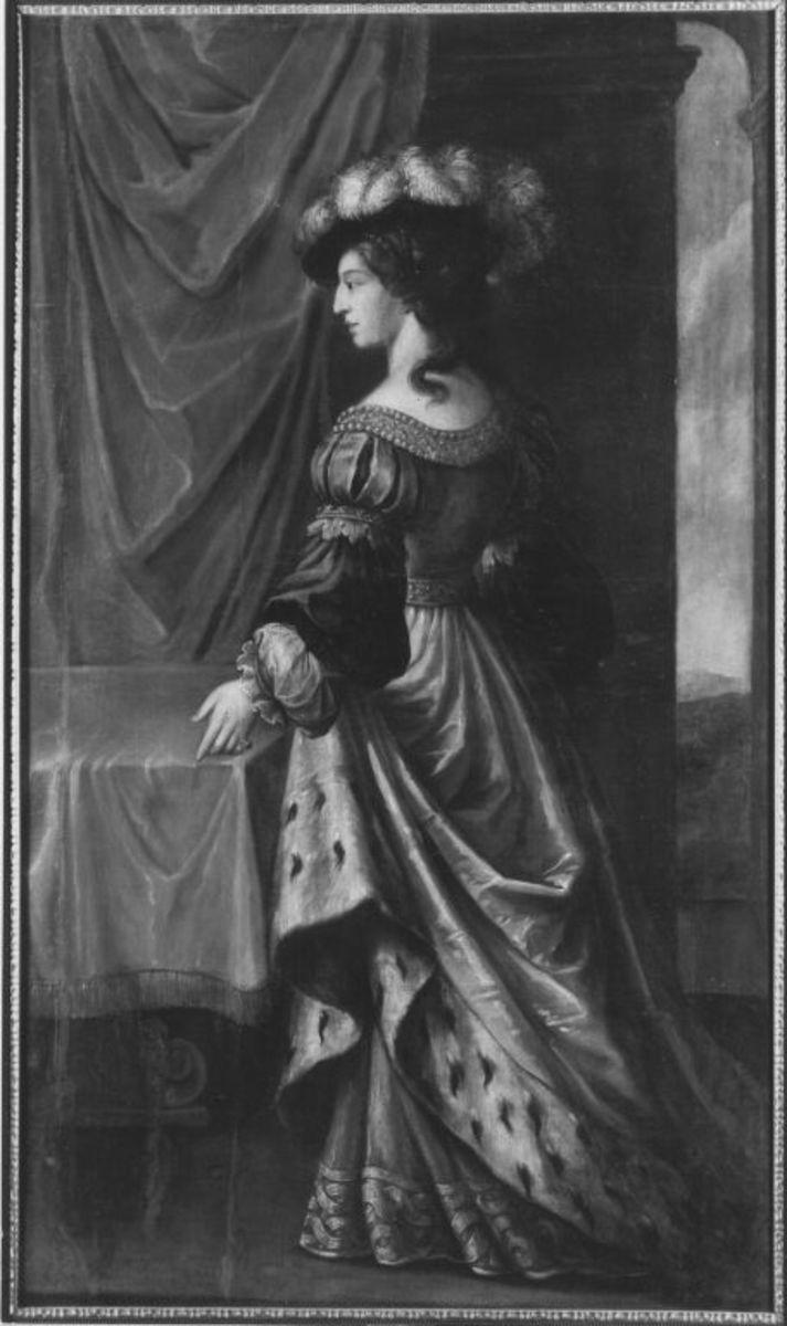 Bildnis der Sophie, Tochter des Herzogs Bernhard von Sachsen
