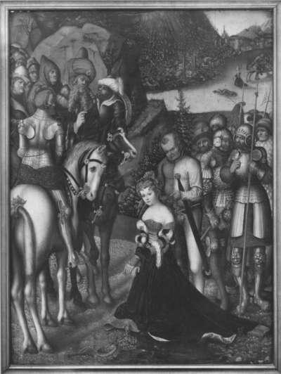 Enthauptung der hl. Katharina (Kopie nach dem Original in Kremsier)