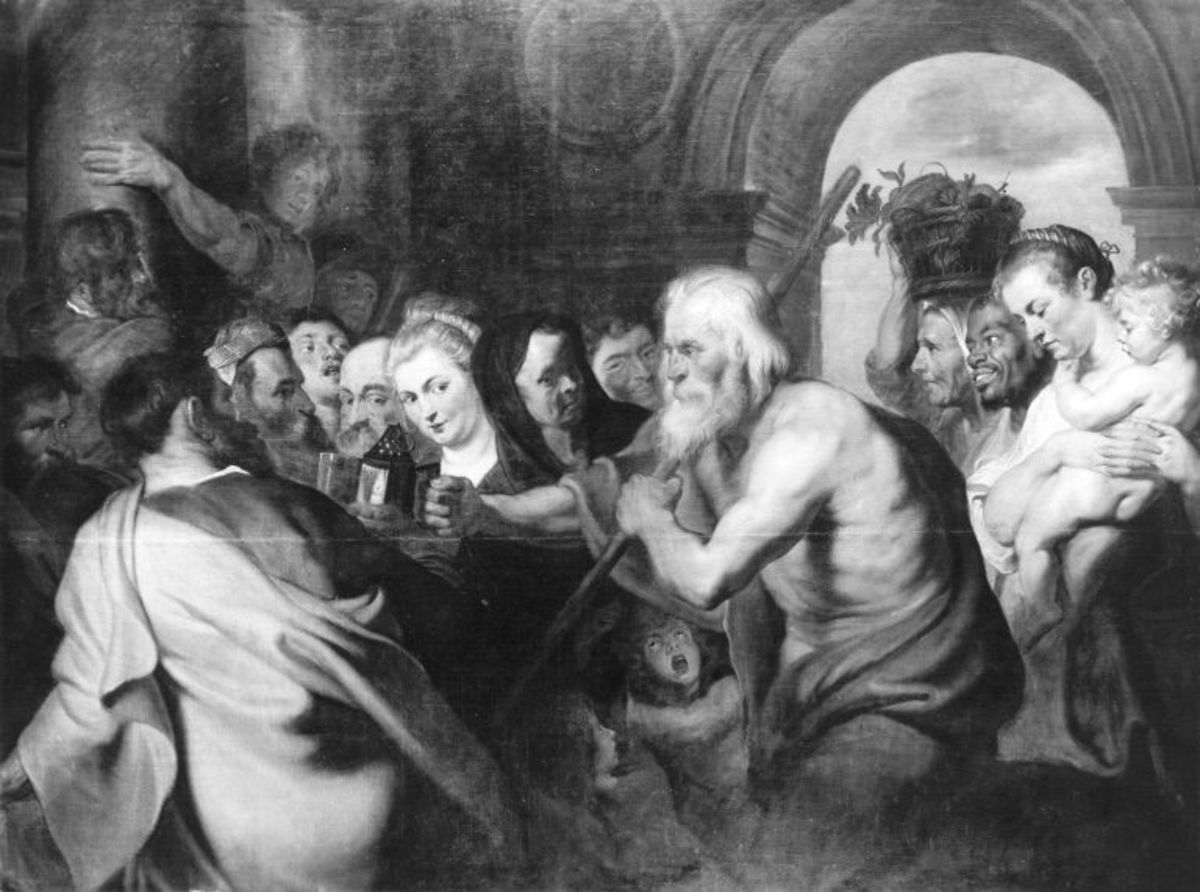 Diogenes mit der Laterne