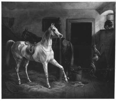 Städtischer Pferdestall