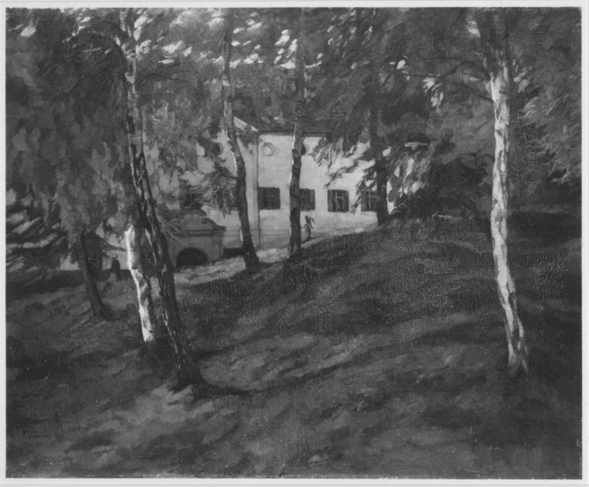 Wirtschaftsgebäude auf der Herreninsel im Chiemsee II