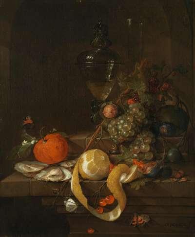 Stillleben mit Früchten und Gemüse