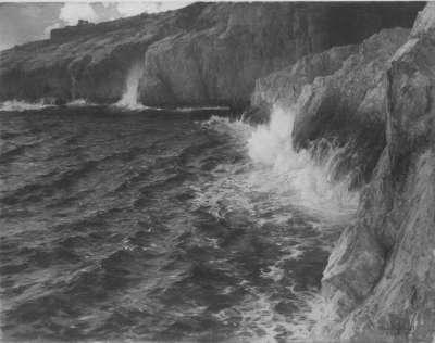 Brandung bei Capri
