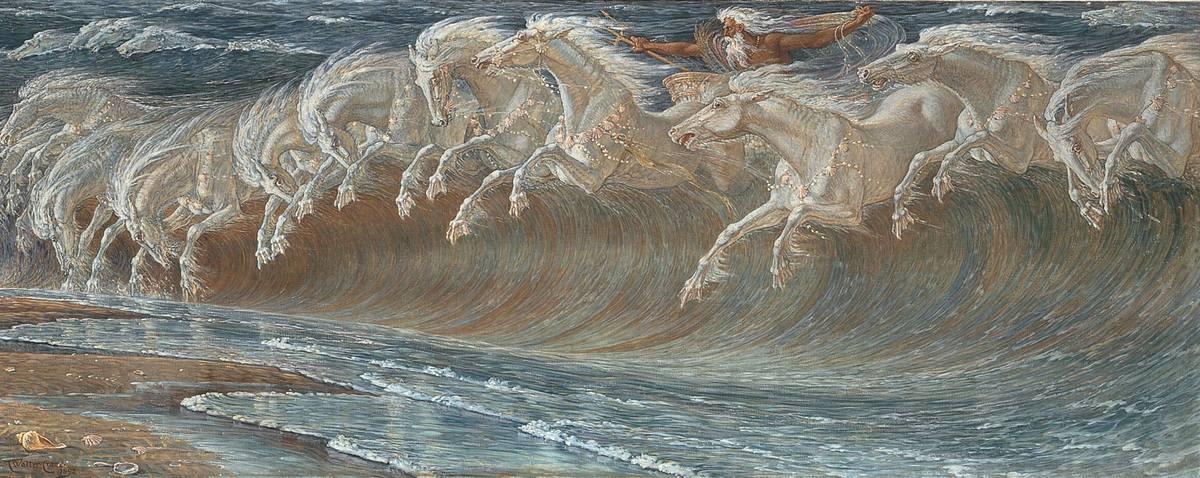 Die Rosse des Neptun