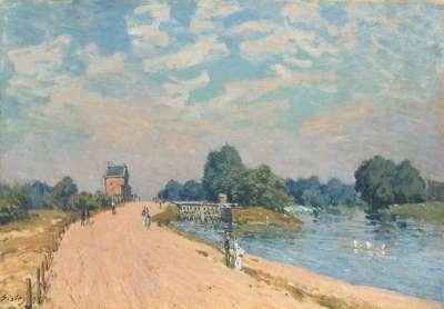 Der Weg nach Hampton Court
