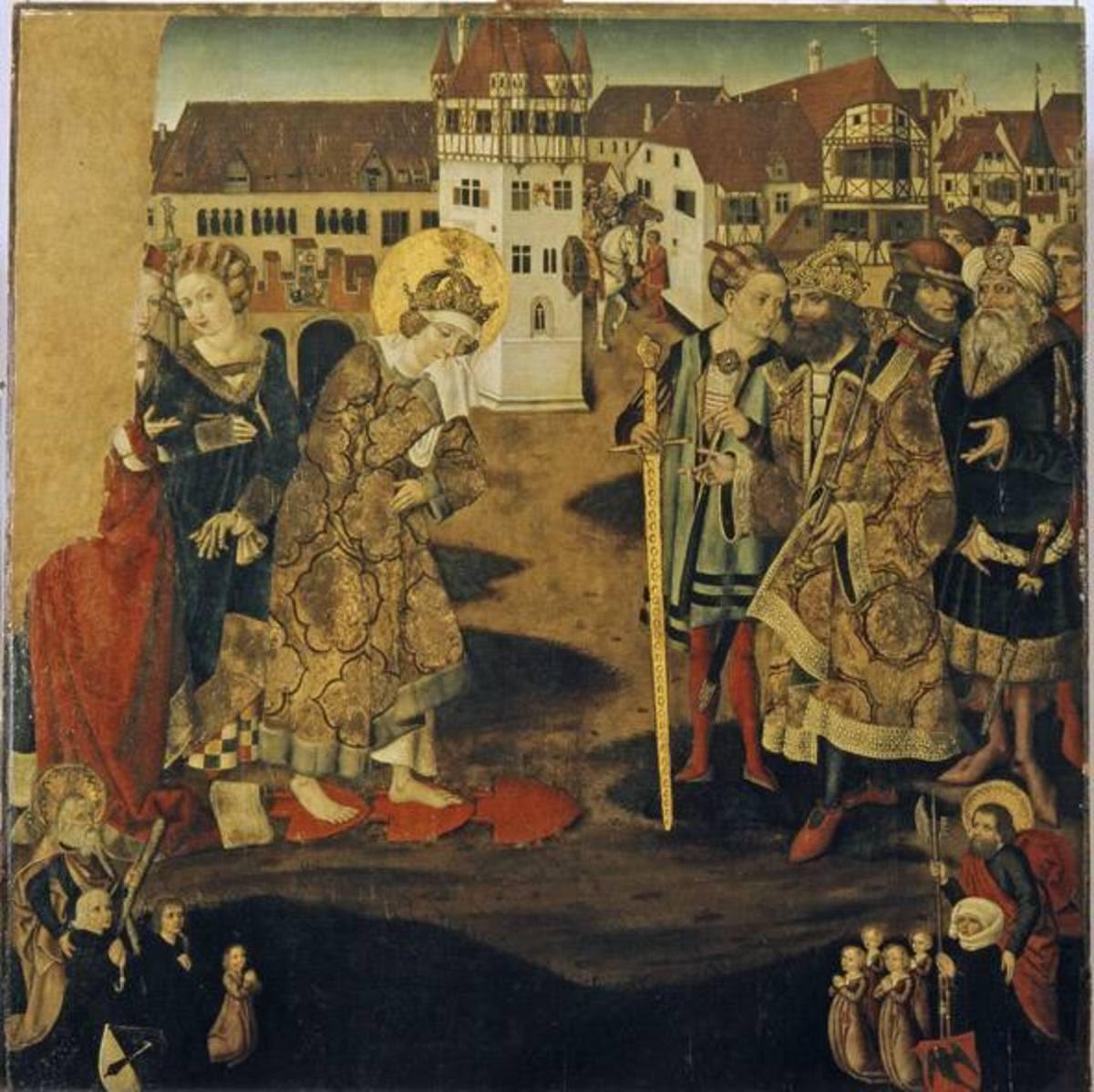 Feuerprobe der hl. Kunigunde