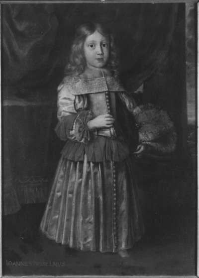 Kinderbildnis des Johann Wilhelm von der Pfalz