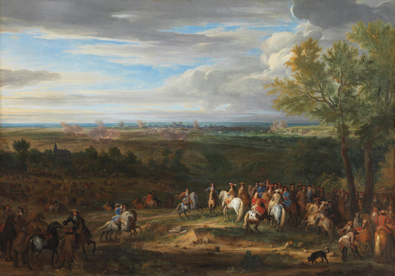 Die Beschießung von Maastricht, 1673