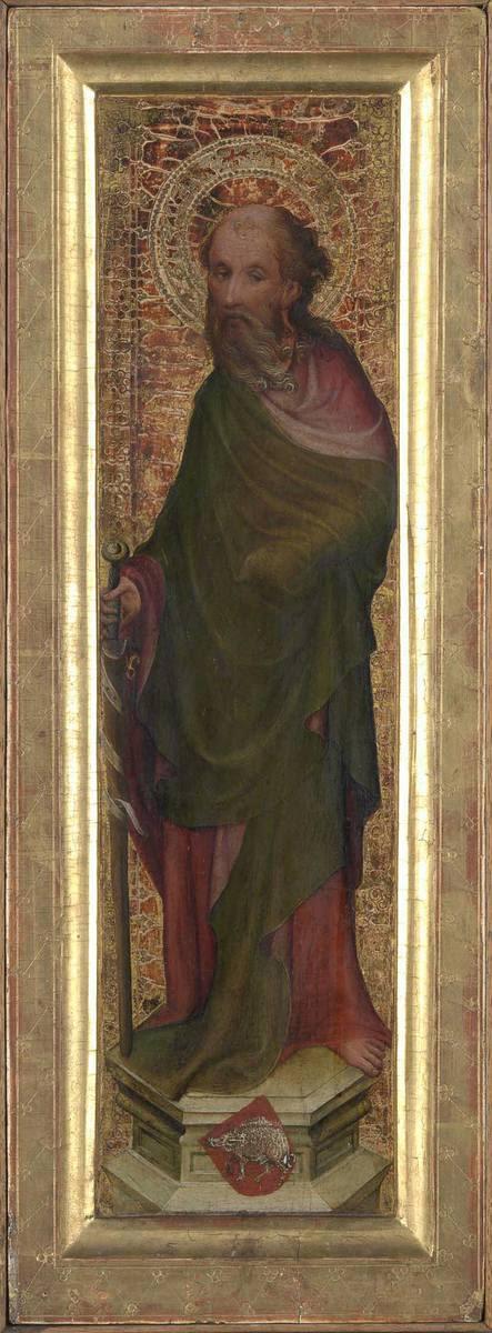Hl. Paulus  Rückseite: Hl. Reinoldus