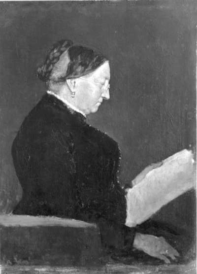 Bildnis der Frau Sporrer