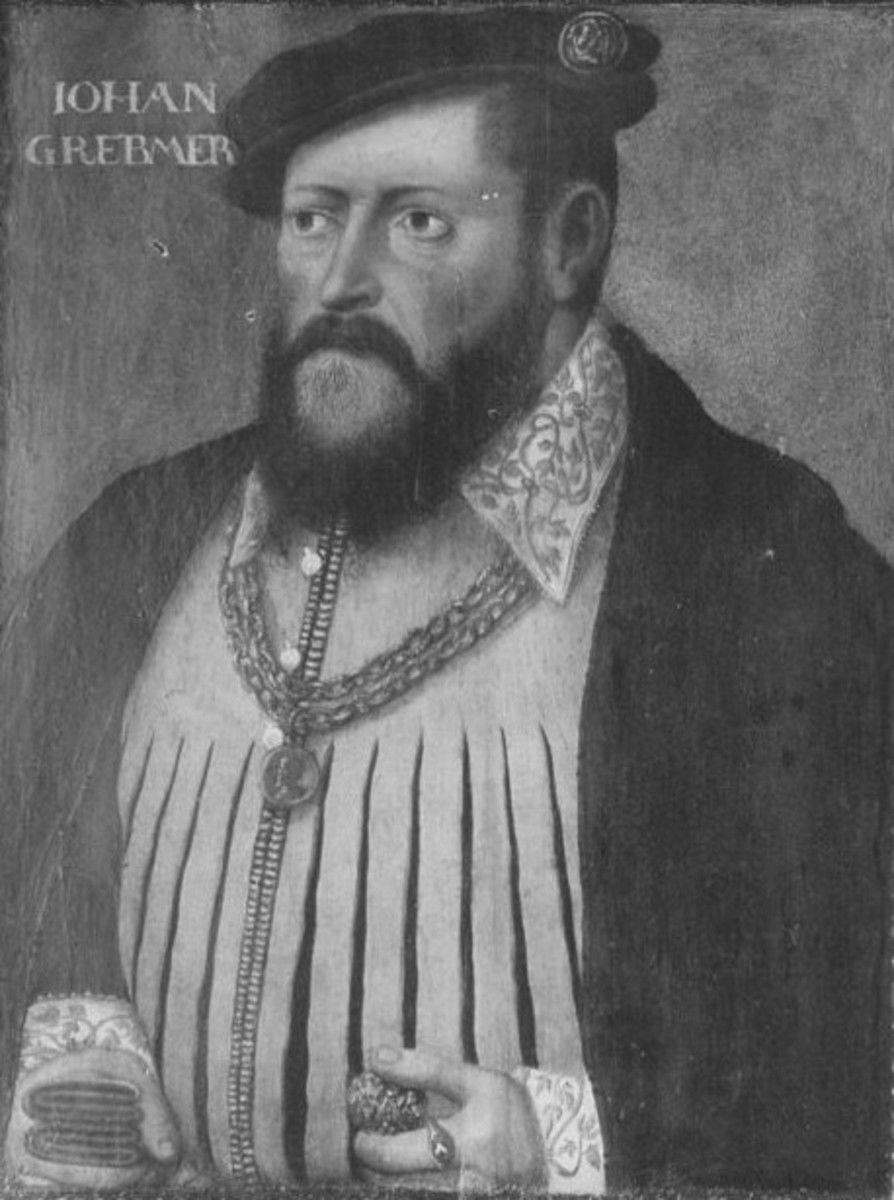 Bildnis des herzoglichen Kammerdieners Johann Grebmer zu Neuenhaus