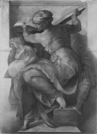 Die Delphische Sibylle (nach Michelangelo)