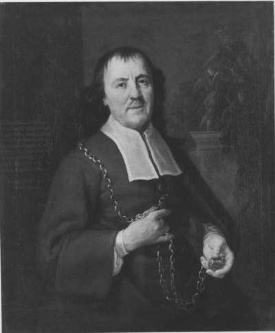 Bildnis des Christoph Kienning, Hofschreiner des Kurfürsten Max Emanuel