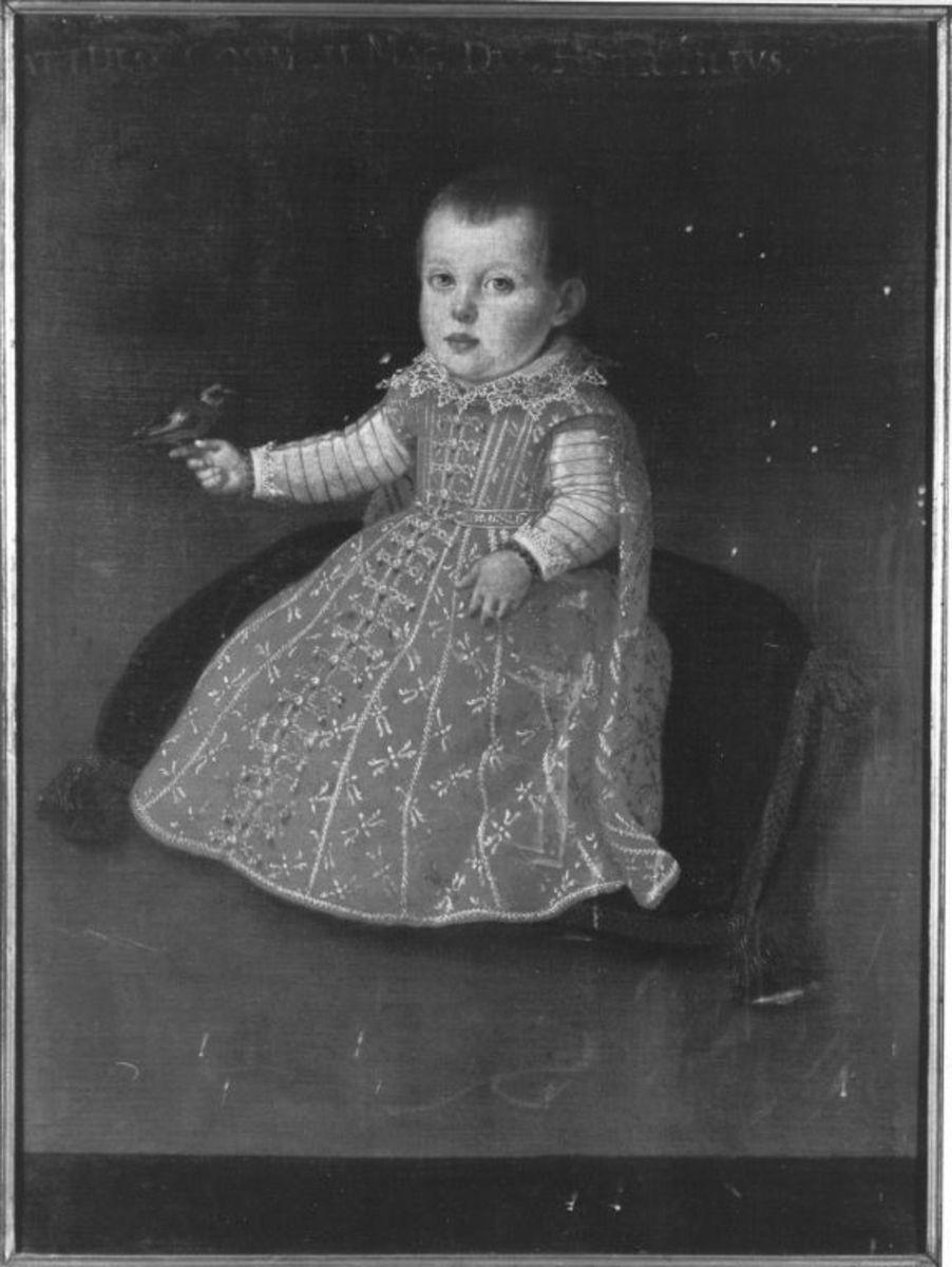 Kinderbildnis des Prinzen Matthias von Toscana, Sohn des .. Cosimo I.