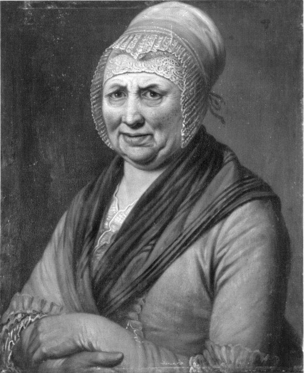 Bildnis einer alten Frau