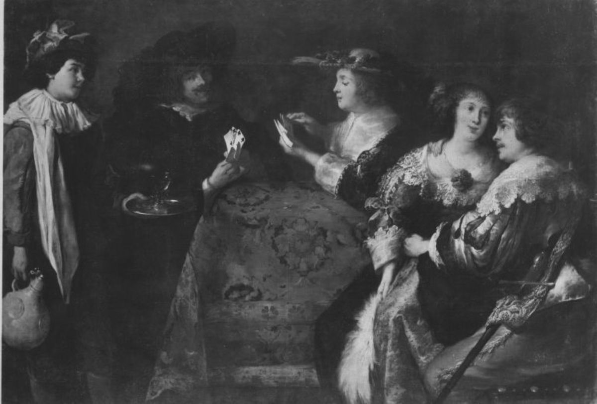 Kavalier und Dame