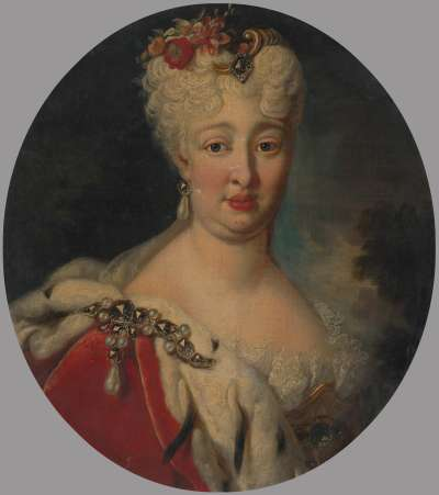 Bildnis der Pfalzgräfin Elisabeth Auguste Sophie von Pfalz-Neuburg (1693 - 1728)