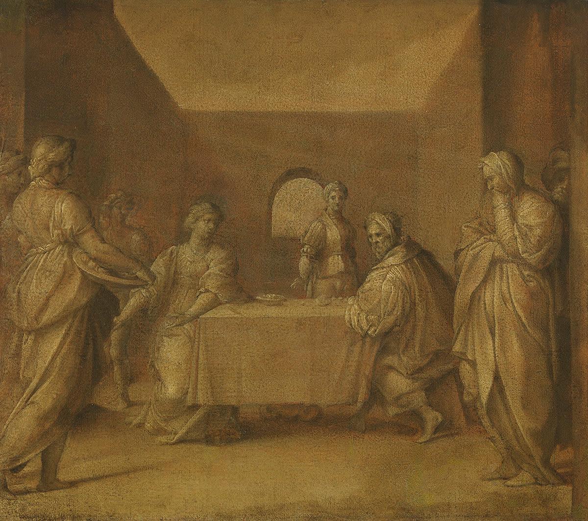 Salome mit dem Haupt Johannes' des Täufers