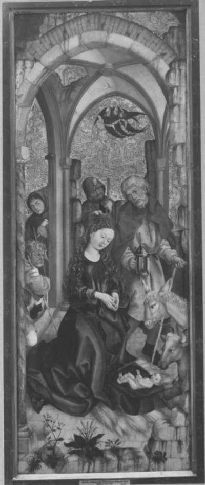 Liebfrauenaltar: Geburt Christi (Rückseite: Christus am Ölberg)