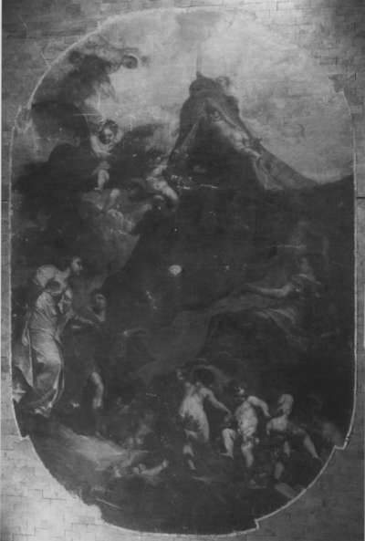 Allegorie auf das Beilager des Kurfürsten Johann Wilhelm