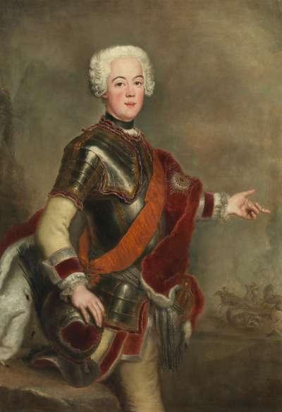 Bildnis des Prinzen August Wilhelm von Preußen, Bruder Friedrichs des Großen