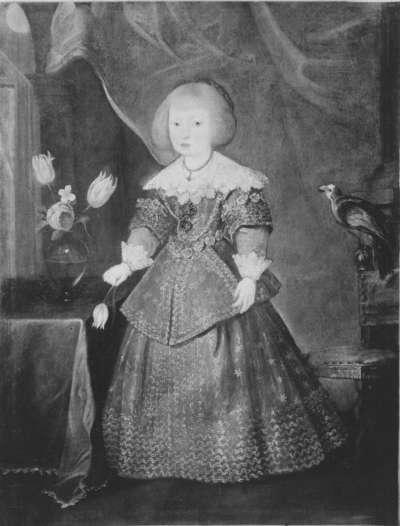 Maria Anna, Gemahlin Philipps IV. von Spanien, als Kind