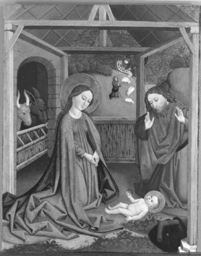 Geburt Christi (Abgespaltene Außenseite: Inv.-Nr. 10748)