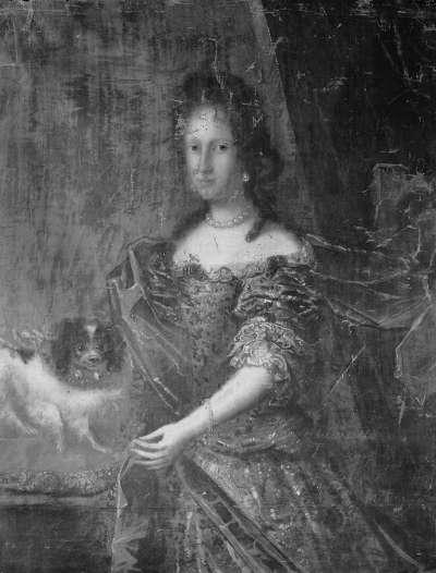 Bildnis der Maria Anna, Gemahlin des Königs Karl II. von Spanien