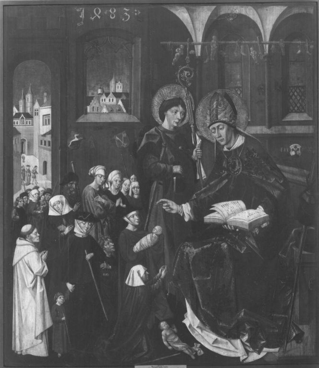Der selige Marinus und sein Kaplan Theklanus