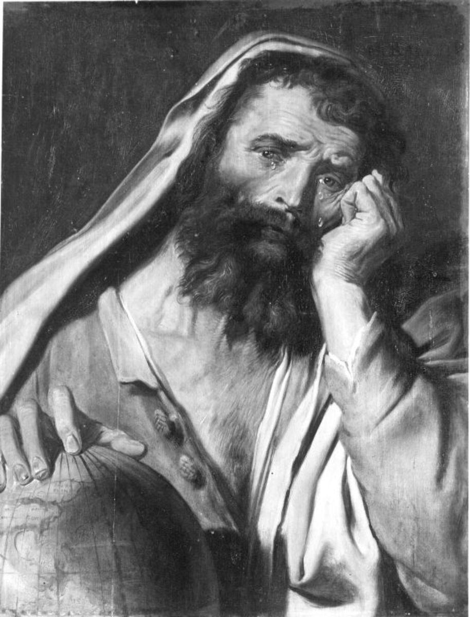 Der weinende Philosoph (Heraklit)