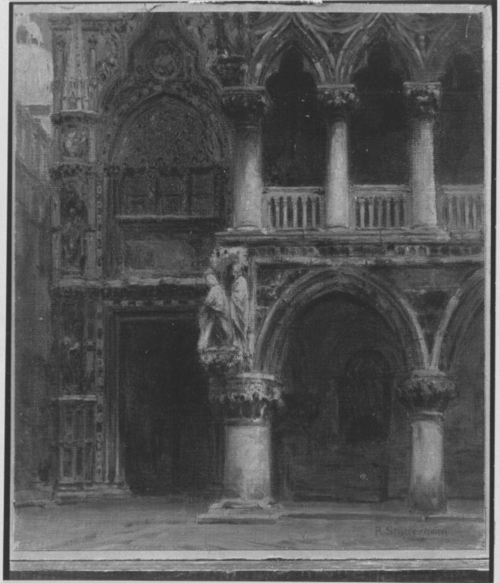 Eingang zum Dogenpalast