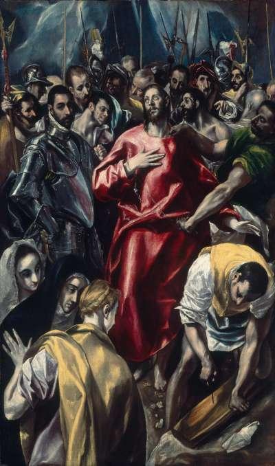 Die Entkleidung Christi