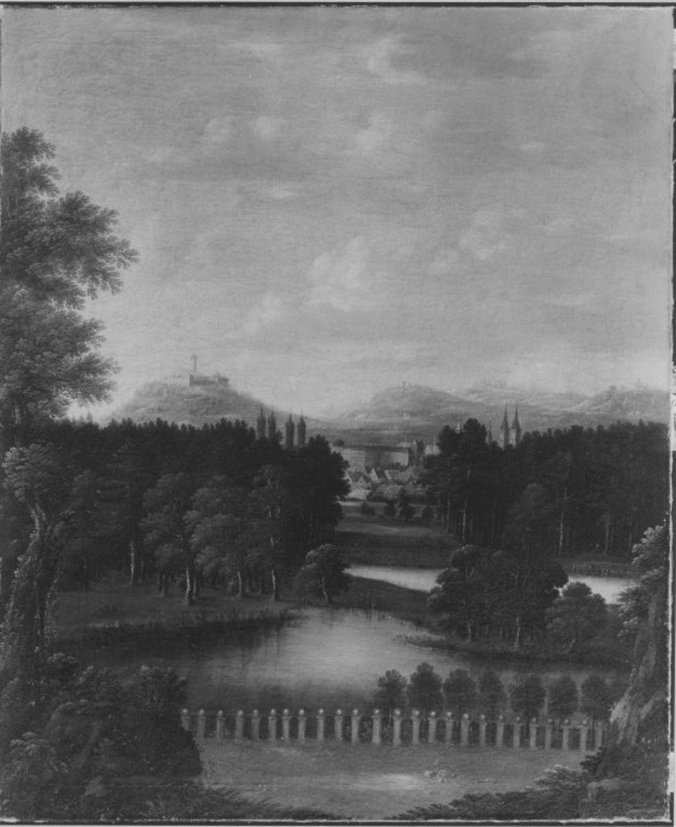 Blick von Seehof nach Bamberg