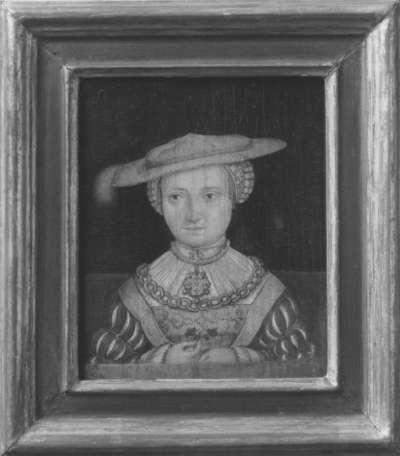 Bildnis Pfalzgräfin Susanna, Herzogin zu Neuburg